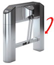 Oxgard Praktika T-02 сompact turnstile photo 8
